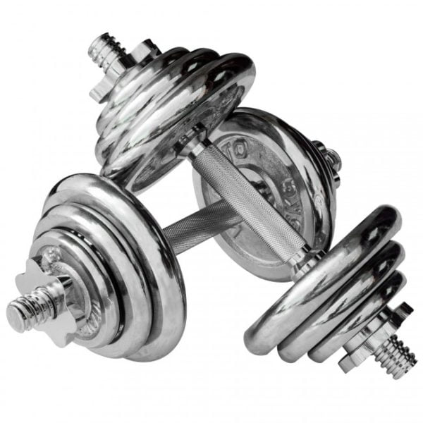 DSB1201 20kg Chromed Dumbbell Set