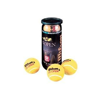 "Wilson ""US OPEN"" Tennis Balls (3 Pack) 1"
