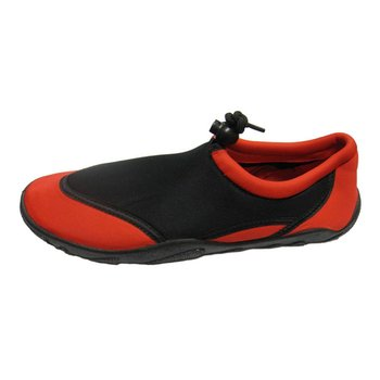 North Coast Men Aqua Shoes: Black/Red 1