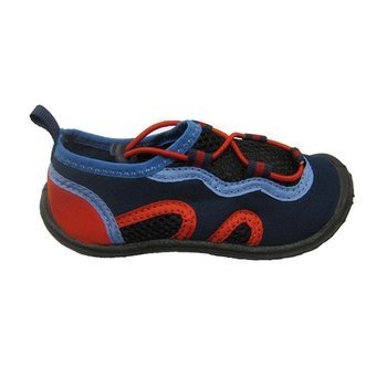 North Coast Kids Aqua Shoes: Navy/Red 1