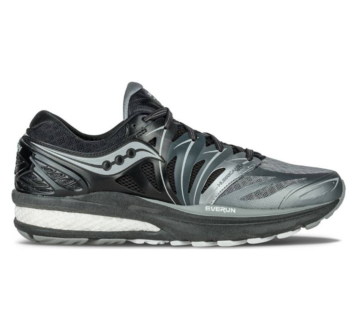 5d7005001520 (Sale) SAUCONY HURRICANE ISO 2 REFLEX  BLACK GREY (MEN)