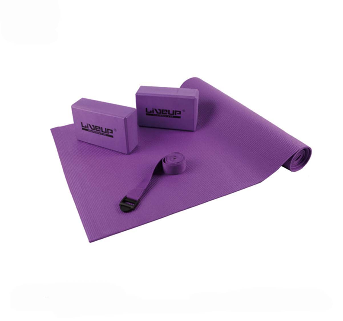 Live-Up Yoga Set: Purple (LS3240)