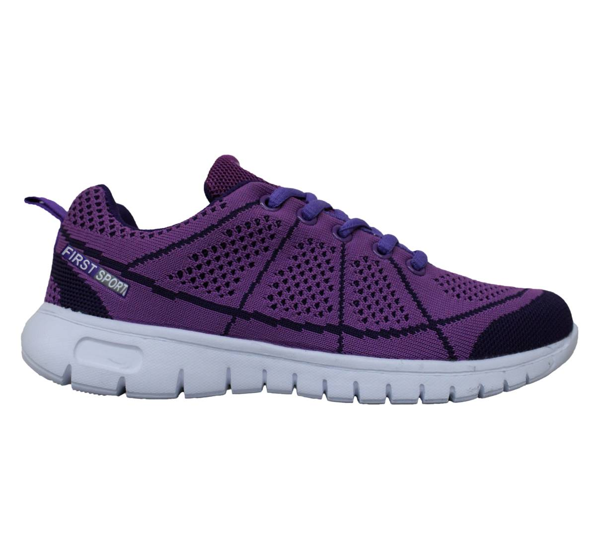 ee6c03348f6 (sale) First Sport Ladies Running Shoes  R08311-W1) Dewberry Electric  Purple
