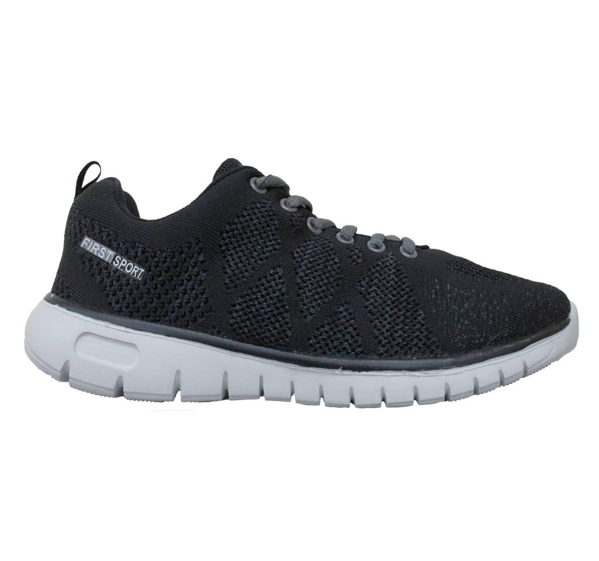 sports shoes b9411 2e6c4 (sale) First Sport Men Running Shoes: (R083113-M3) Black