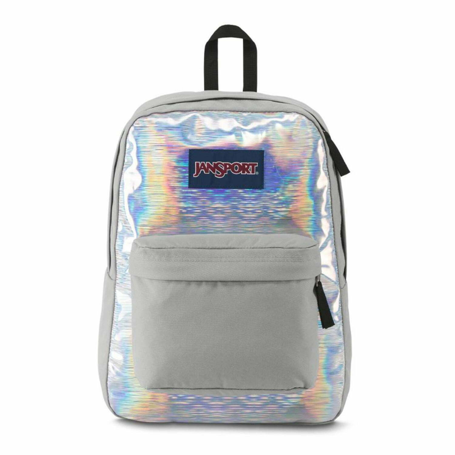 b5ed9763e118 Jansport High Stakes Backpack  Silver Hologram
