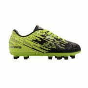 10031112201 – 1122 Soccer Boots Jr – Black-Lime