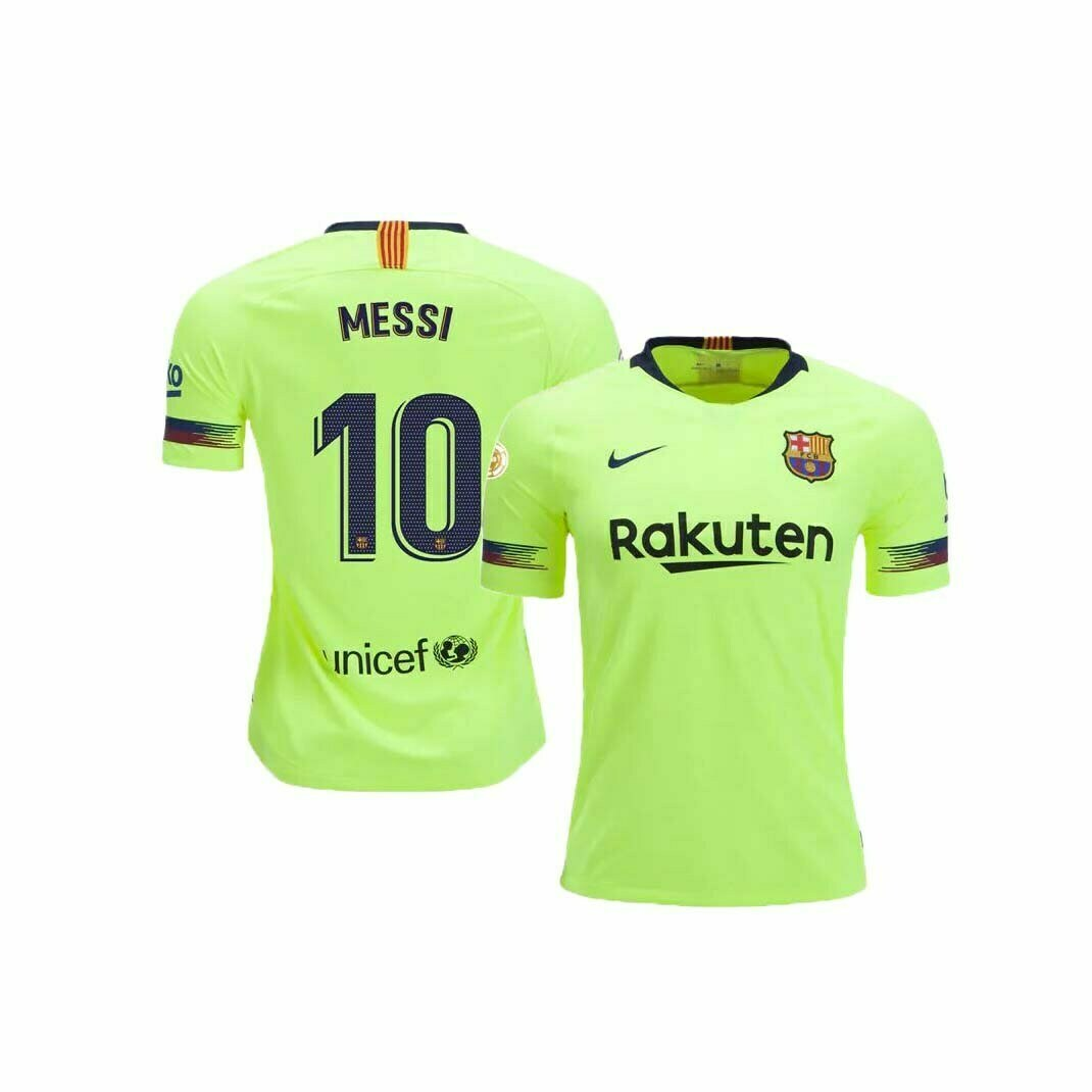cheaper 1f7db c4b81 FC Barcelona Away Jersey (2018/2019): #10 Messi