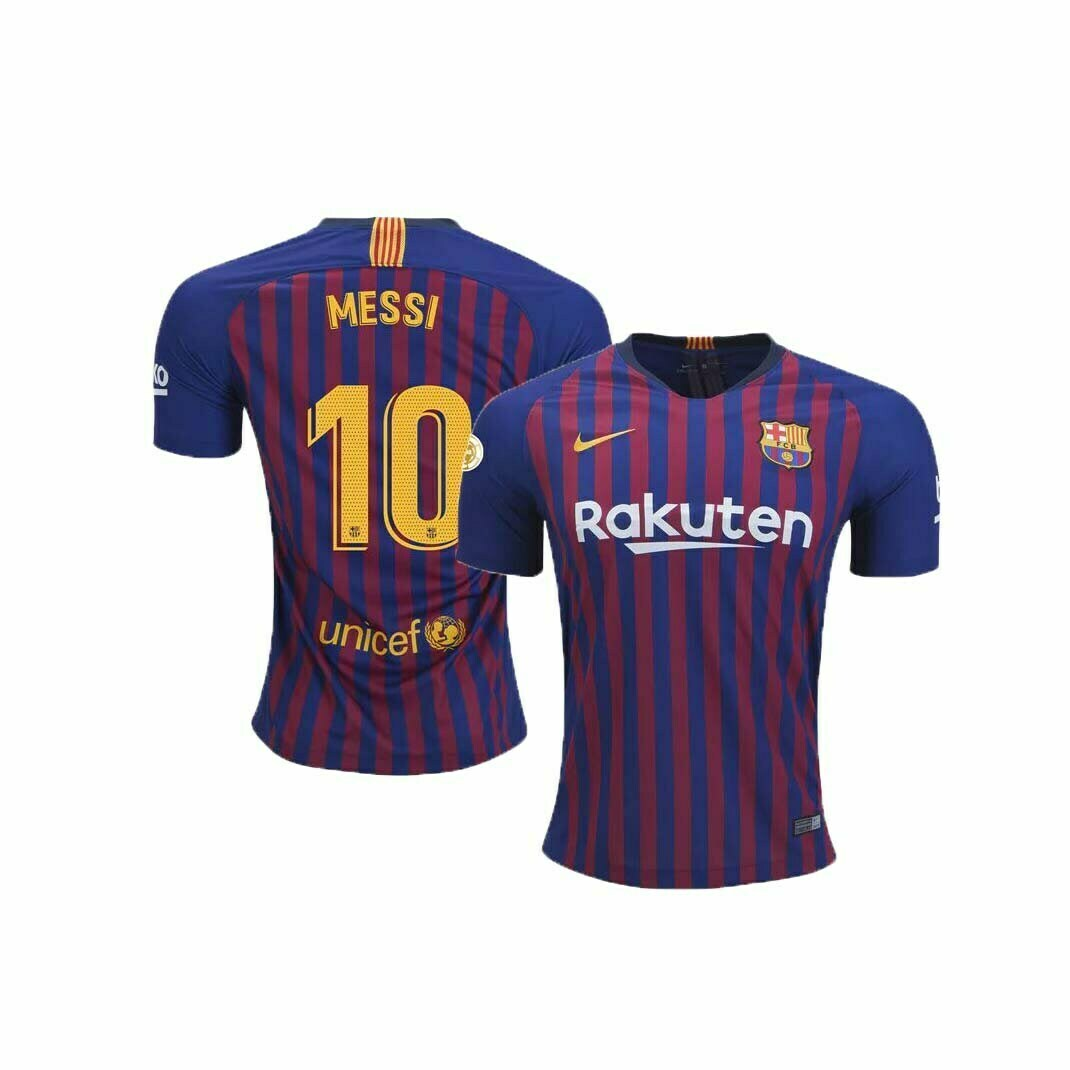 best cheap a7c50 c2075 FC Barcelona Home Jersey (2018/2019): #10 Messi