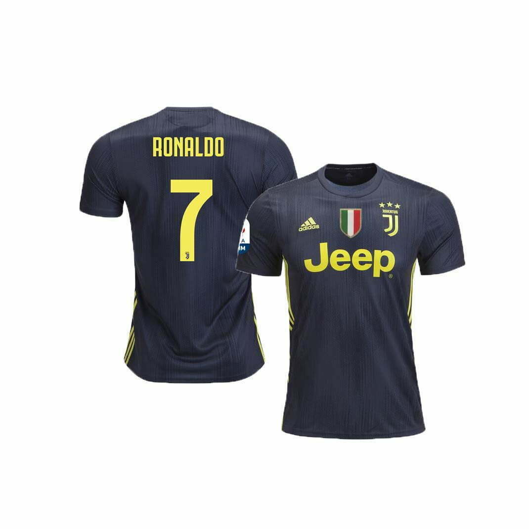 timeless design 4c614 c43cd Juventus Third Jersey (2018/2019): #7 Ronaldo