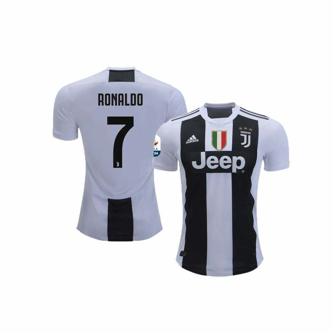 competitive price 58d45 97add Juventus Home Jersey (2018/2019): #7 Ronaldo