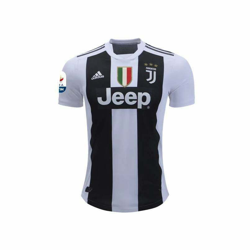 Juventus Home Jersey (2018/2019): #7 Ronaldo Sports and Game