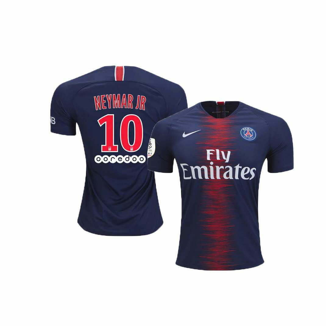 new product dfeee 374e5 Paris Saint Germain (PSG) Home Jersey (2018/2019): #10 Neymar Jr.