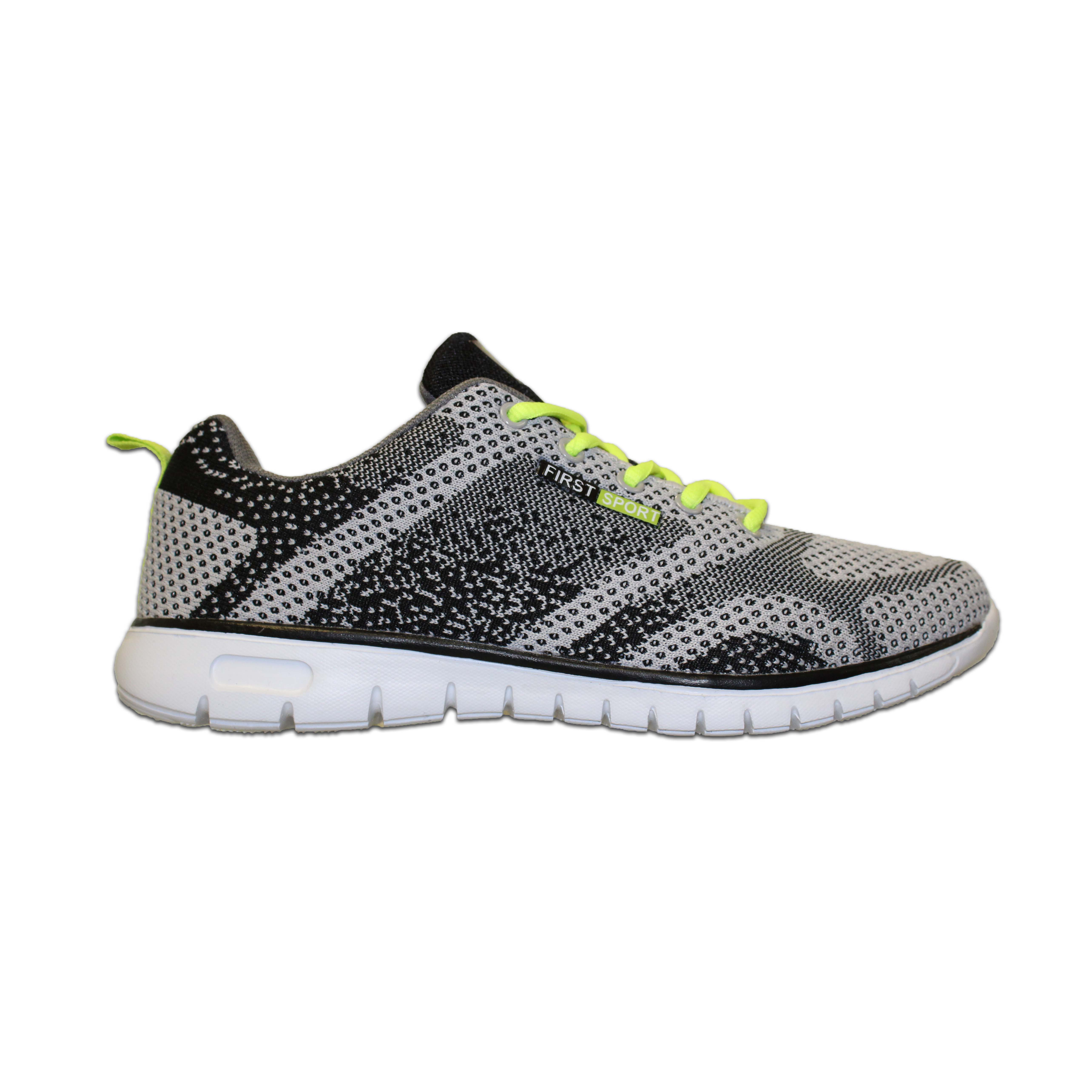 buy popular 05e62 50132 (sale) First Sport Men Running Shoes: (07122) Black/Lime Punch