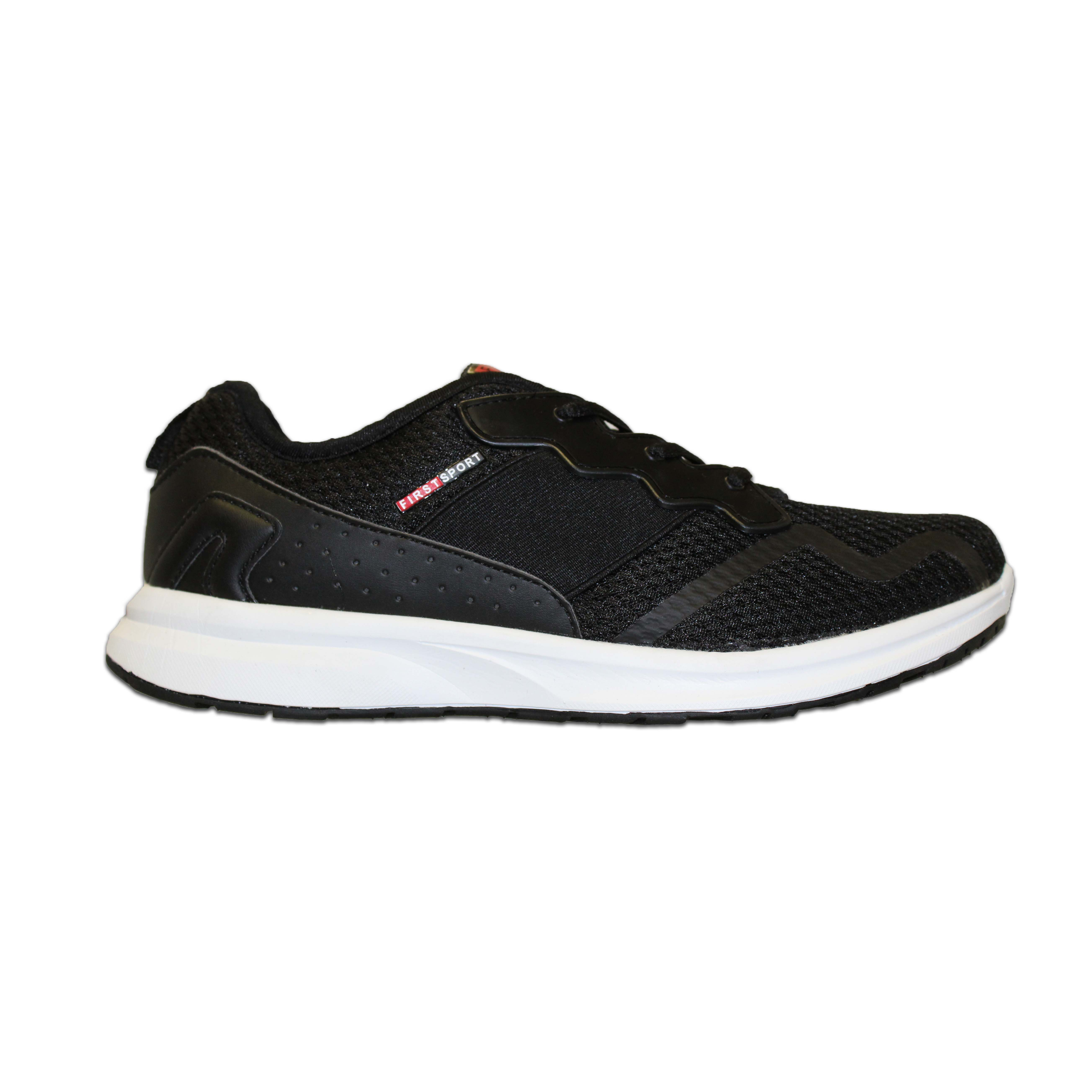 new style f739c b09bd (sale) First Sport Men Running Shoes: (08041) Black
