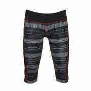 17200028 – Yoga Capri – Black-Burgundy 1