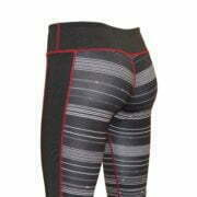 17200028 – Yoga Capri – Black-Burgundy 3
