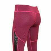 17200084E – Yoga Pants – Red-Black 3