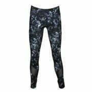 17200086 – Yoga Pants – Black-Blue Florals 1