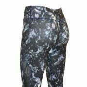 17200086 – Yoga Pants – Black-Blue Florals 3