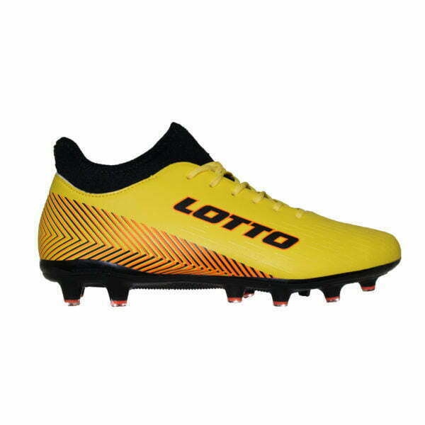 1019050810 – Men Soccer Boots – Yellow-Black-Orange 1