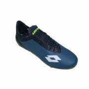 3019050800 – Men Soccer Boots – Blue-Lime-White 2
