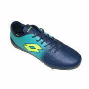 4019050810 – Men Soccer Boots – Navy-Turquoise 2