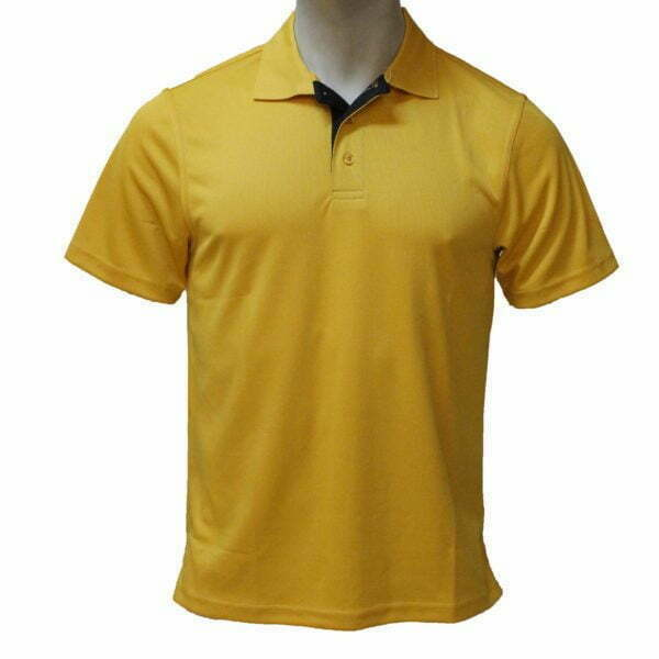 1970000463 – FS004M Dri-Fit Polo Gold Mn