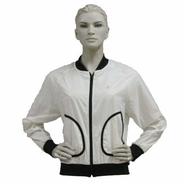 1012000001 – LL1012 Jacket Wmn – White