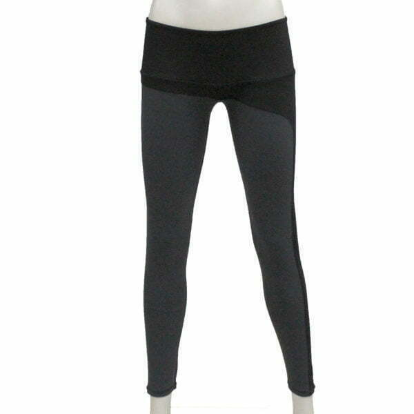 1016000001 – LL1016 Leggings Wmn – Grey-Black – 1