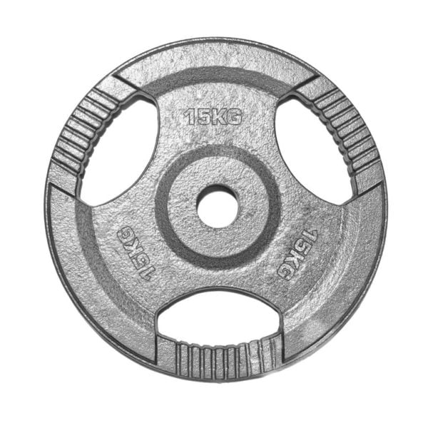 16141500 – PL14 Olympic Grip Plate 15kg