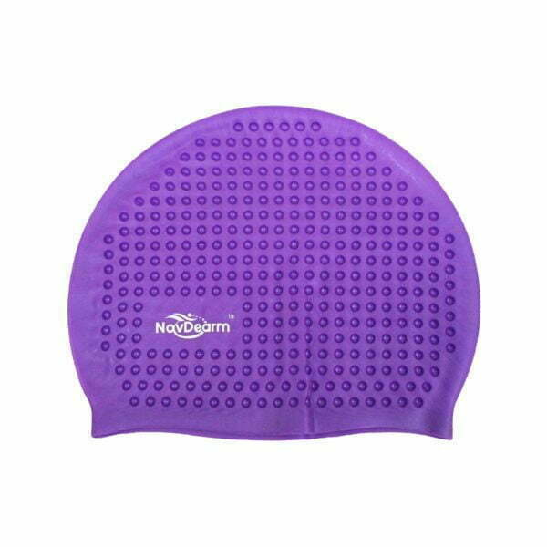 28229 – Swim Cap SG-016 Silicone – Purple