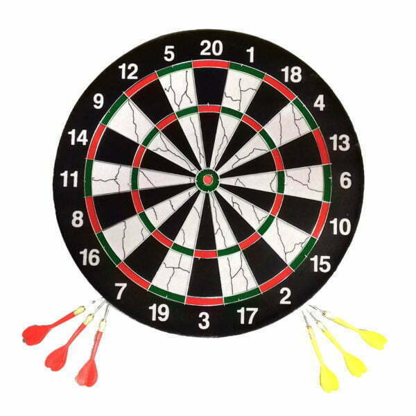28733 – Dart Board with 6 Darts 17 inch SG98 – 1