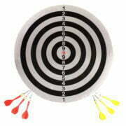28733 – Dart Board with 6 Darts 17 inch SG98 – 2