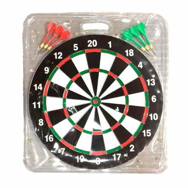 28736 – Dartboard with 6 Darts SG101 17 inch – 1