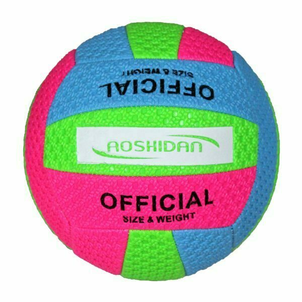 28207 – VolleyBall SG-028 Size 5 – Blue Green Pink