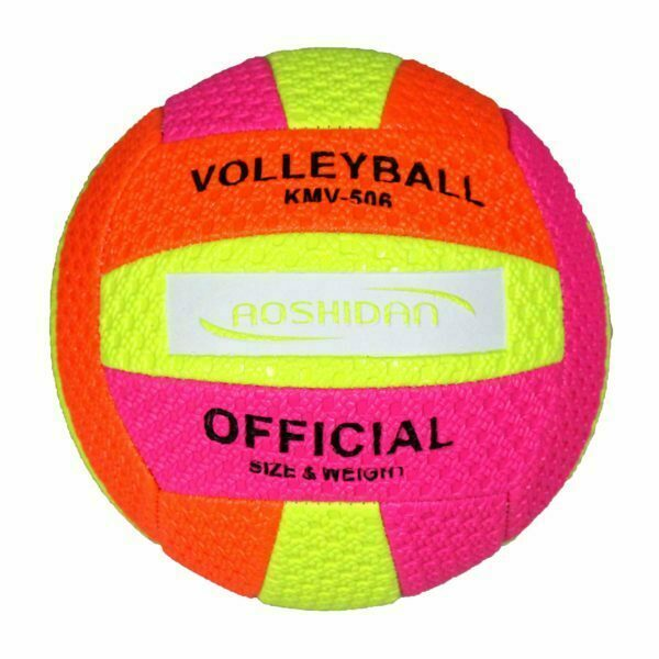 28207 – VolleyBall SG-028 Size 5 – Orange Yellow Pink