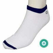 6193500006 – Socks Mn LLS005 Ankle White-Navy